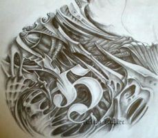 Biomechanical cz1 by Tirana-Weaving