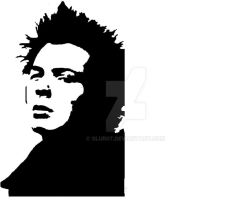 Sid Vicious Stencil by SLUR07