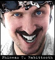 Phineas T. Rabittooth (Self Portrait) by Rabittooth