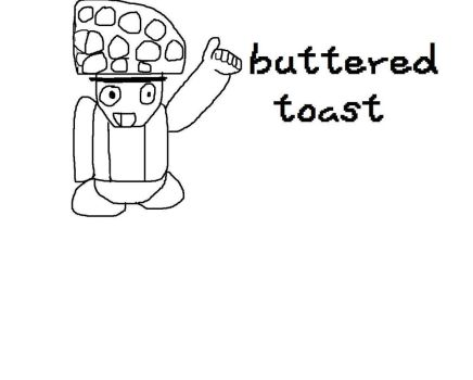 Buttered Toadst  (Orginal non banner version) by Pokemontrainernat