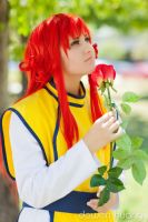 YYH: A Red Rose by xYaminogamex