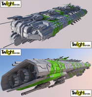 Combat Frigate 2 Render by MSgtHaas