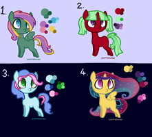 MLP Point Adoptables 2 (CLOSED) by Athene112