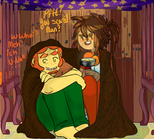 2spooky Collab By Askthehuwoman by MissPomp