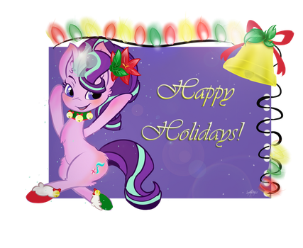 Glimmering Holidays by tractareSolidum