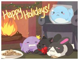 4TW Happy Holidays by finni