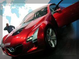 NAIAS 2006 - Mazda Kabura 02 by opticalxarsenal