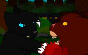 Tigerstar's Death by Snowfrost02