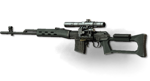 MW3: Dragunov by FPSRussia123