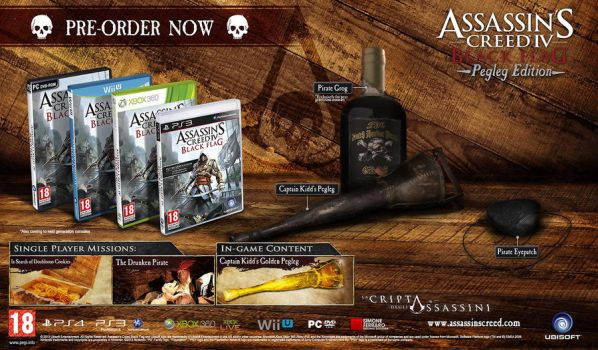 Assassin's Creed 4 - Black Flag - Pegleg Edition by SimoneFerraroGD