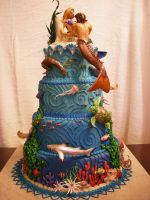 Atlantis Cake veiw 2 by The-EvIl-Plankton