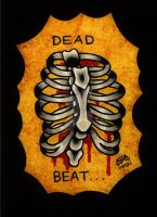 Dead Beat Ribs by Vicki-Death