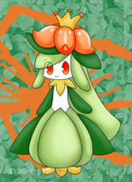 Pokemon BW- Lilligant by chibitracy