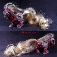 My Demon Pony  Romero MLP Ooak by Undead-Art