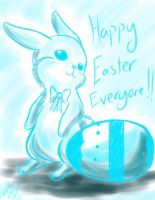 Happy Easter Everyone! by chaosphoniex