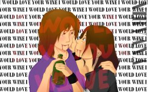 I would love your wine by rumpleteazercat03
