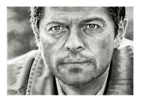 Supernatural : Castiel by adavesseth