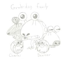 Charles and Dexter's notes: Grub-dogs by CharlesBulbmin
