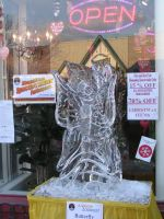 Ice Sculpture 12 by ItsAllStock