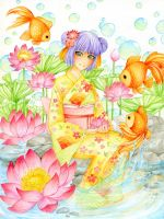 Lotus Water by Hachiyo
