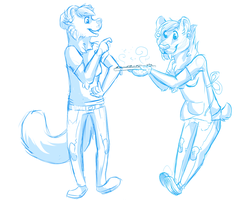 cookies for a cutie WIP by catfarts