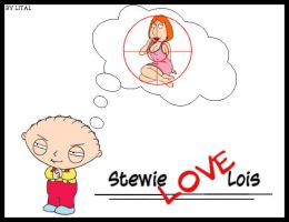 "Stewie ""love"" Lois by lital108"
