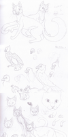 Finch's sketchdump - 7.11.11 by Finchwing