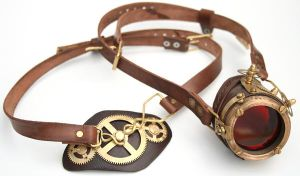 Steampunk Monogoggle 3 by AmbassadorMann