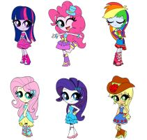 Equestria Girls  prom dresses by annasabi101