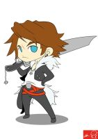 Squall Dissidia by Witchking00