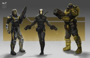SciFi CharacterSketches revised by Rob-Joseph