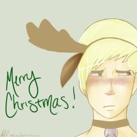 Merry Christmas - Draco by asgaardian