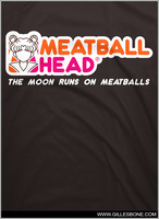 .Meatball Head. by GBIllustrations