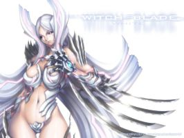 the white witchblade by wolfs15