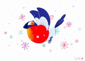 Holiday Card 2012 -Nell80 by childrensillustrator