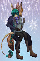 baby it's cold outside by CorrieTsuku