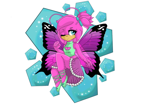 ~I'm your little butterfly~ by AmaryIIis