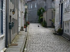 Streets of Stavanger by burntvision3quency