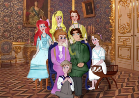 DisneyHistory Romanovs by girl-in-blue-dress