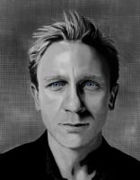 Daniel Craig by Trissinka