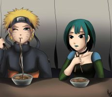 Naruto and Gwen Request done by XXUnicornxx by TheRealKyuubi16