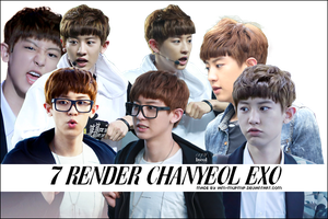 7 Render ChanYeol EXO by IAM-MUPMIP