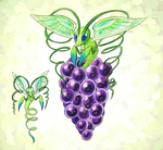CDC June Day 13: Grape Bug by StarMonyII