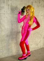 Pink Samus Mission by lampylampy