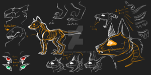 creature sheet by Acording