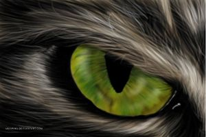 Painting practice - eye by AriaWho