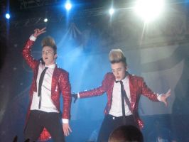 Jedward Sweden concert by Funny-horsey