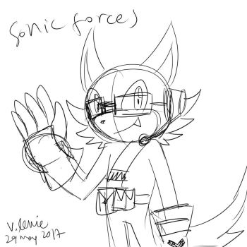 Sonic Forces Buddy the Wolf by villyvalley16