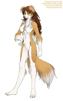 Paperdoll - Cordelia Collie by frisket17