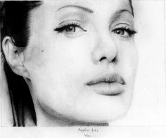 Angelina Jolie by MindlessCreativity